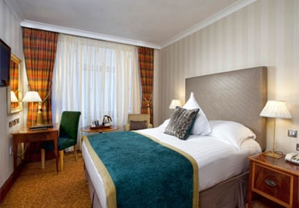 A guest room at Europa Belfast
