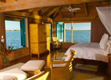 A resort based on a private island off the coast of Belize, Cayo Espanto is one of our Top Romantic Hotels in the World