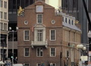 The Old State House was the site of the infamous Boston Massacre