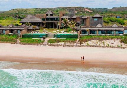 Kenoa Exclusive Beach Spa & Resort in Barra de São Miguel, Brazil, one of GAYOT's Top 10 Romanctic Hotels Worldwide