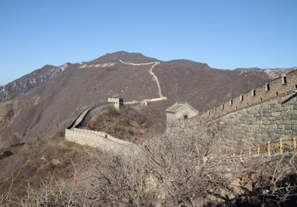 The Great Wall of China is one of GAYOT's Top 10 Must-See Destinations
