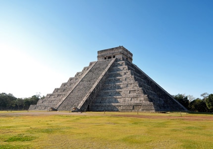 Chichen Itza, home to 1,500-year-old Mayan pyramids, is featured in GAYOT.com's Top 10 Must-See Travel Destinations