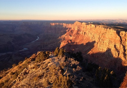 The Grand Canyon in Arizona is widely considered North America's greatest natural wonder
