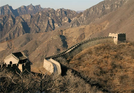 The Great Wall of China, one of GAYOT's Top 10 Must-See Travel Destinations