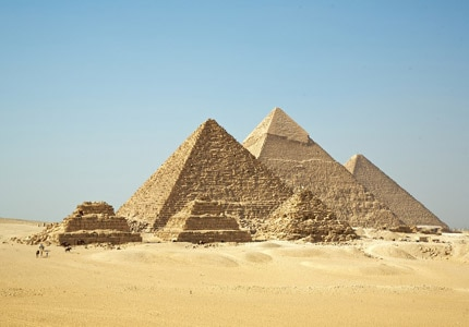 The Pyramids of Giza have puzzled historians and archaeologists for centuries