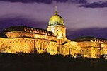 The magnificent Buda Castle in Budapest, Hungary