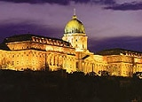 The Buda Castle adds to Budapest's undeniable glamour