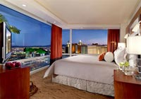 The Aria Hotel in Las Vegas boasts a number of Corner Suites, which offer incredible views of the city