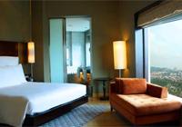 A guest room at Hilton Kuala Lumpur