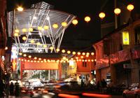 The Petaling Street Market in Kuala Lumpur