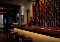 The bar and dining room at Tamarind Hill in Kuala Lumpur