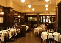 The dining room at Galvin-Bistrot de Luxe in London