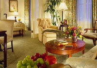 A spacious room at The Fairmont Olympic Hotel, Seattle
