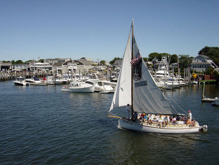 Sailboats at Hyannis Harbor, Massachusetts