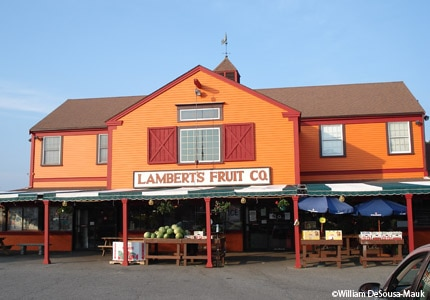 Lambert's Farm Market in Sandwich, Massachusetts