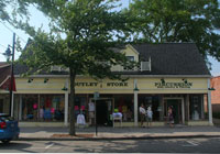 Main Street in Hyannis offers plenty of shopping restaurants