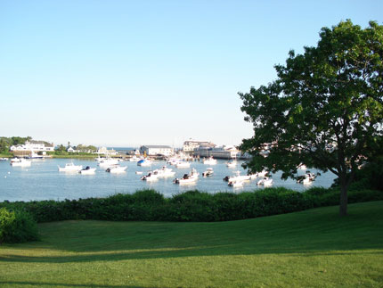 Wychmere Harbor on Cape Cod, Massachusetts
