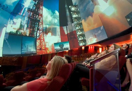 Get a singular movie experience at the 3D cinema on the Queen Mary