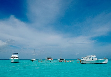 Take a break from the ship and enjoy a dip in the refreshingly clear waters surrounding Grand Cayman