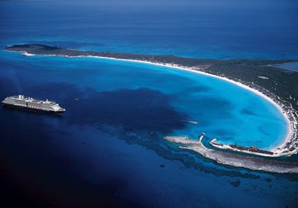 Holland America Line's private island, Half Moon Cay