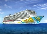 Norwegian Getaway from Norwegian Cruise Lines, one of our Top 10 Caribbean Cruise Lines