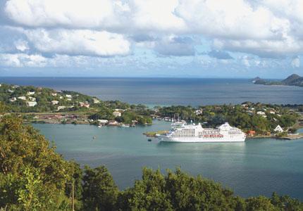 Regent Seven Seas' Navigator in St. Lucia