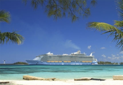Royal Caribbean's Allure of the Seas in Nassau