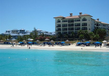 The beachfront at Beaches Turks and Caicos Hotel