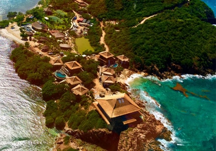 Sir Richard Branson's posh Moskito Island in the British Virgin Islands