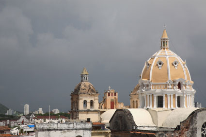 One of Cartagena's major draws is its architecture