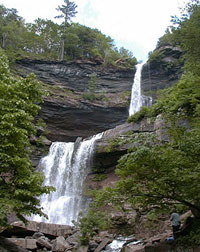 Kaaterskill Falls is the tallest waterfall in the Catskills