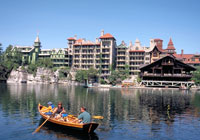 Mohonk Mountain House is one of the oldest resorts in the Catskills