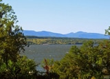 The Catskills beyond Hudson River
