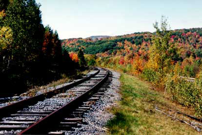 The Delaware and Ulster Railroad in the Catskills was first built in the 1900s