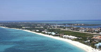 Seven Mile Beach in Grand Cayman, Cayman Islands