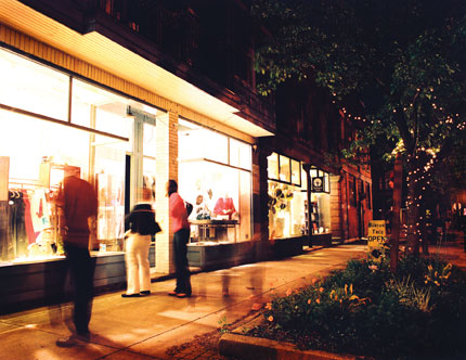Tremont offers an eclectic mixture of galleries, shops and world-class dining