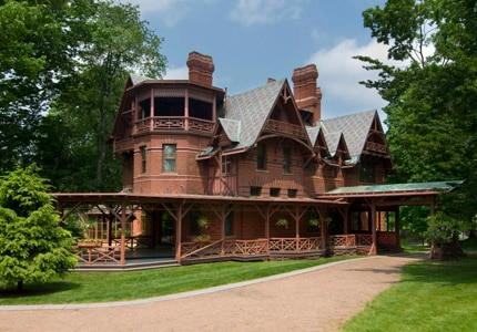 The Mark Twain House & Museum in Hartford, Connecticut