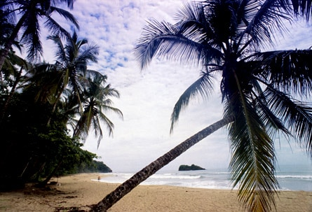 One of our favorite romantic destinations, Costa Rica, features miles of gorgeous beaches like Punta Cocles in Puerto Viejo