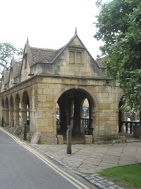 The old market hall, built in 1627 for traders selling butter, cheese and poultry
