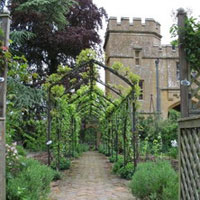 Victorian Kitchen Garden at Sudeley Castle
