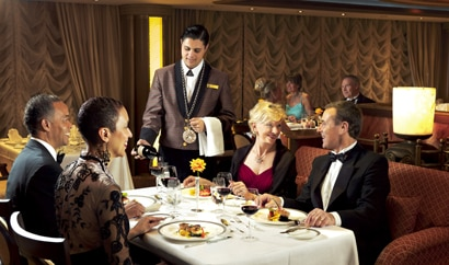 Elegant dining awaits diners aboard Cunard cruises (photo credit: Cunard Line)