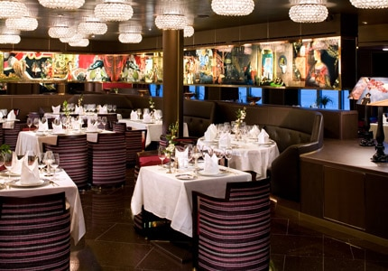 Holland America's Pinnacle Grill serves fresh seafood and Pacific Northwest specialties