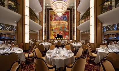 From quick bites to fine dining, Royal Caribbean offers many options to passengers