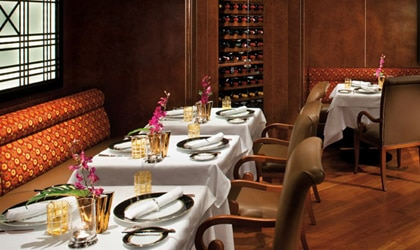 Silversea's Le Champagne is the only Wine Restaurant by Relais & Châteaux at sea