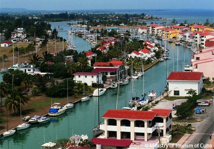 Marina Hemingway is the largest marina in Cuba