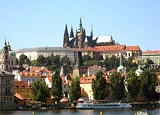 A view of Prague Castle, one of many destinations in this 72-Hour Vacation