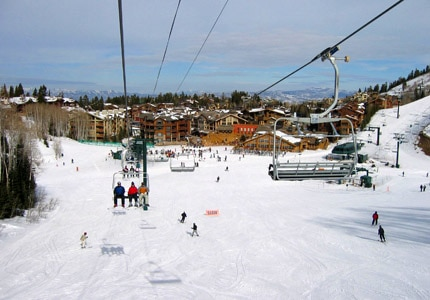 Deer Valley Resort in Park City, Utah — perfect skiing, perfect lodges, perfect vacation