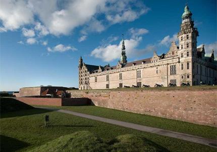Kronborg Castle in Denmark is the setting of Shakespeare's play Hamlet