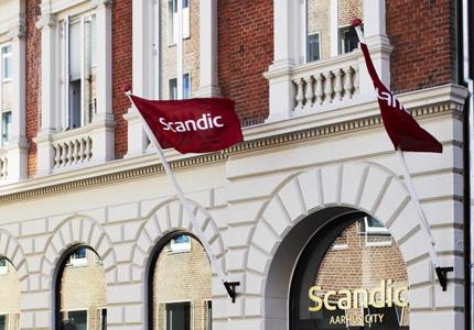 The Scandic Aarhus City hotel in Denmark