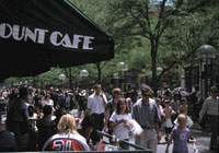 The 16th Street Mall is a popular outdoor destination for Denver locals and vistors alike